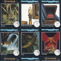AD&D Trading Cards