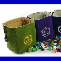 Dice Bags & Boxes